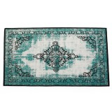 Fairy Green Distressed Rug / cotton (60*96)
